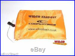 100 Fluorescent Locking Wheel Nut / Bolt / Key Bags Handy Sting Bag Bundle Pack