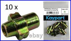 10 X Dynomec Blade C McGard Locking Wheel Nut Removal Tool Franklin AFT014 AFT25