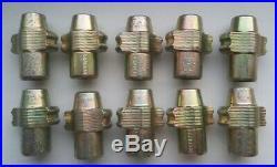 10x DYNOMEC Blade C (McGard type) for AA Rac Type Locking Wheel Nut Removal Tool