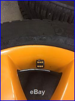 15 Vw Alloys 5x100 With Michelin Tyres And Locking Wheel Nuts