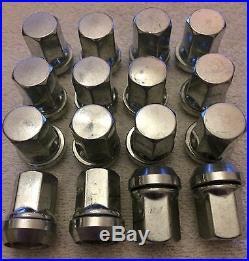 16 X M12X1.25 VARIABLE 19mm HEAD WOBBLY PCD CHANGE ALLOY WHEELS NUTS FITS SUZUKI