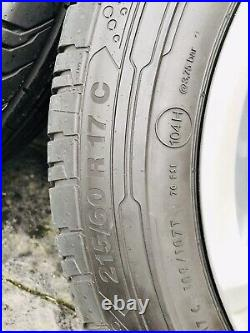 17 Davenport alloys with continental Tyres And Locking Wheel Nuts. (All New)