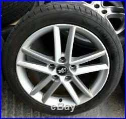 17 Genuine OEM Seat Leon FR Alloys & Tyres, Comes With Wheel Bolts+ Locking Nut
