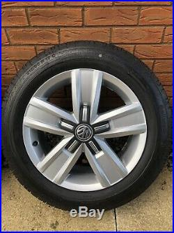 17 VW T6 T32 Davenport Alloys Includes Wheel And Locking Nuts
