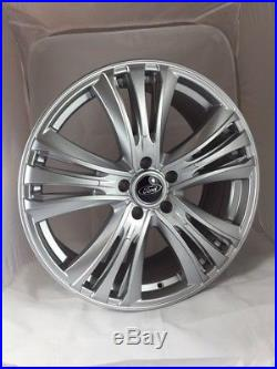 18 Inch Ford Transit Custom Alloy Wheels with Tyres, Ford Badges & Locking Nuts
