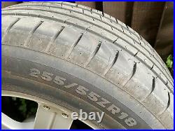 18 Le mans alloy wheels and Tyres X5 Shogun L200 Japanese with nuts and locking