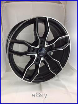 18 Transit Custom Turismo Alloy Wheels with Tyres, Ford Badges & Locking Nuts