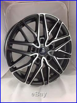 18 Transit Custom Wraith Alloy Wheels with Tyres, Ford Badges & Locking Nuts