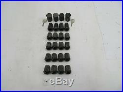 1986 Porsche 944 951 911 968 #1096 20 OEM GENUINE Wheel Lug Nuts With Locking Set