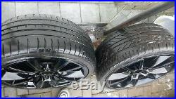 19 alloy wheels 235/35/19 with tyers all very good condition with locking nuts