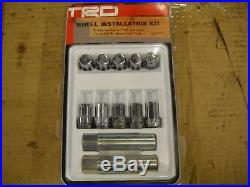 2005 2014 Toyota Tacoma TRD Wheel Lug Nut Kit with Locks, PTR27-35100
