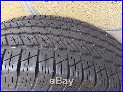 2007 GMC Yukon Original Rims Wheels and Tires Lock Nuts 265 / 70R17