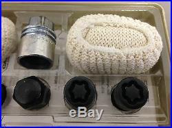 2008-2016 LR2 Evoque OEM Wheel Locking Lug Nut Set