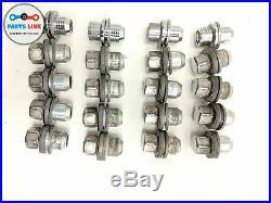 2009-2016 Range Rover Sport L494 Front Rear Wheels Rims Lug Nut Key Lock Set-21