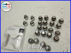 2013-2019 RANGE ROVER L405 WHEEL RIM LUG NUT LOCK KIT With KEY SET-25 19-22 INCH