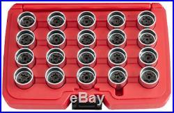 20 Piece Audi Locking Wheel Nut Key Set