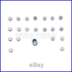 21pc Locking Wheel Nut Screw Lock Socket Key Master Tamper Proof Kit Set For BMW