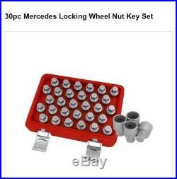 30pc Mercedes Locking Wheel Nut Master Set NEILSEN CT4536