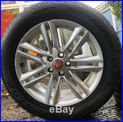 4 Jaguar XF Ursa 17 Alloy Wheels & Tyres + Free Delivery Incl. Jag Nuts & Lock