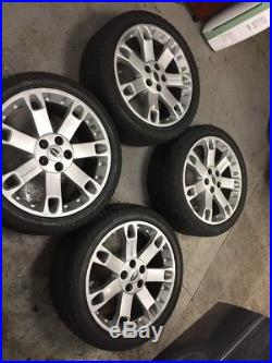 4 Range Rover, Landrover 20 Genuine Overfinch Wheels with locking nuts+bolts