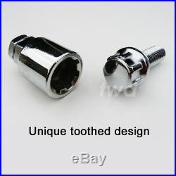 4 x ALLOY WHEEL LOCKING BOLTS FOR BMW X3 (E83) 2003-10 M14x1.5 LUG NUTS Z0b