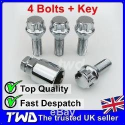 4 x ALLOY WHEEL LOCKING BOLTS FOR VOLVO XC90 MK1 (2002-2015) STUD LUG NUTS Z0b
