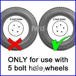 4 x ALLOY WHEEL LOCKING BOLTS FOR VW (M14x1.5) RADIUS SECURITY LUG NUTS bR0b