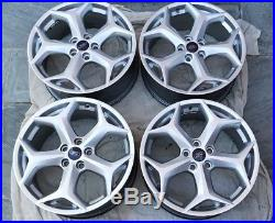 4 x FORD FOCUS ST3 GENUINE ALLOY WHEELS + SET OF LOCKING WHEELS NUTS