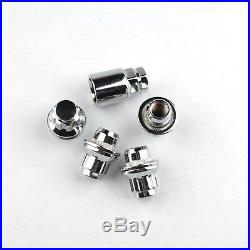 4 x HIGH QUALITY WHEEL LOCKING NUTS FOR TOYOTA SEAT SECURITY BOLTS LUGS(M12x1.5)