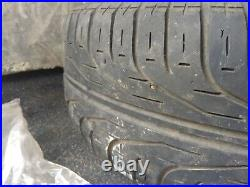 4 x VW GOLF JETTA ALLOY WHEELS and Tyres and locking wheel nuts and original
