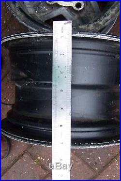 4x Revolution Alloy Wheels Mini 10 X 6 With Locking Nuts, Studs Etc