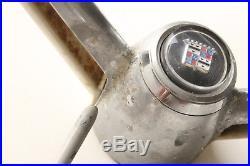 61 62 Cadillac DeVille steering wheel horn 13/16 locking nut OEM