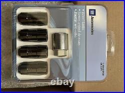 84332438 wheel lug nut kit with lock and key black new OEM