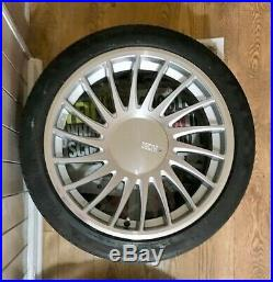 A45 Mercedes Alloy Wheels, With Extension Bolts, Locking Nuts, Wheel Spacers