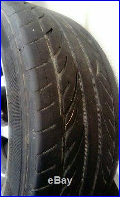 AEZ (xylo) Alloy Wheels & tyres 4x114.3 + locking wheel nuts, off Volvo Car