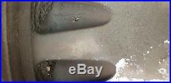 AUDI ALLOY WHEELS / GOOD TYRES / LOCKING NUTS ETC. 7mm. 6mm. 6mm. 4mm 205 55 16