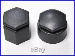 AUDI Q7 2006-2015 WHEEL NUT BOLT COVERS LOCKING CAPS DARK GREY CHARCOAL x20