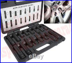 Aftermarket Master Wheel Lock Locking Lug Nut Key Removal Socket Point HEX Star