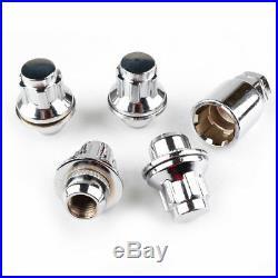 Alloy Locking Wheel Nut Bolt Anti-theft M12x1.5 Flat for ESCORT MK2 RS 2000 FORD