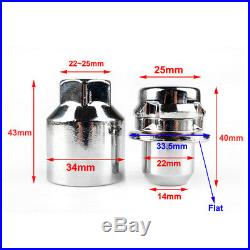 Alloy Locking Wheel Nuts Lugs Bolts Stud M14X1.5 for Range Rover Sport