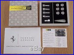 Alloy Wheel Lock Nut Set Genuine Ferrari 458 F360 F430 488 California 70004563