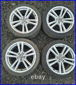 Audi A1 17 WHEELS AND TYRES AND LOCKING NUTS