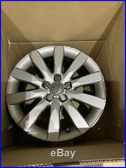 Audi A1 A2 Sport 16 Alloys Wheels 5x100 Boxed Centre Caps Locking Wheel Nuts