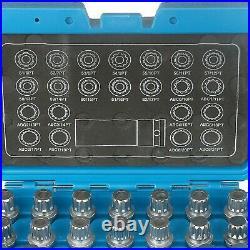 BELEY 23pcs Wheel Lock Lug Nut Remover Kit, Automotive Wheel Anti-Theft Screw