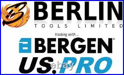 BERGEN Locking Wheel Nut Remover Nut Bolt Stud Extractor Impact Twist Socket Set