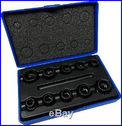 BERGEN Locking Wheel Nut Removers 11pc Nut Bolt Stud Extractor Twist Socket Set