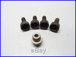 BMW E81 E82 E87 E88 E90 E91 E92 E93 Wheel Locking Nuts Bolts & ABC 37 Key #058