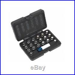 BMW Master Locking Wheel Nut Keys Set Spline Ribe Type Locking Key Tamper Proof