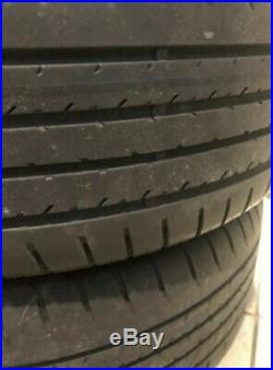 Black 17 inch Ford Eco Sport Alloy Wheels and tyres x4 plus lock in wheel nuts
