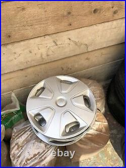 Brand New Transit Wheels With Trims + Locking Nuts